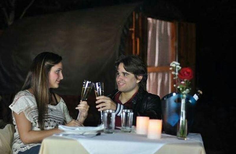 Cena Romantica en Glamping La Cepa